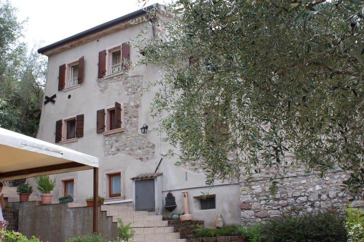 Casa Silvia Gardasee 2/4  Albisano - Torri del Benàco - Condominio