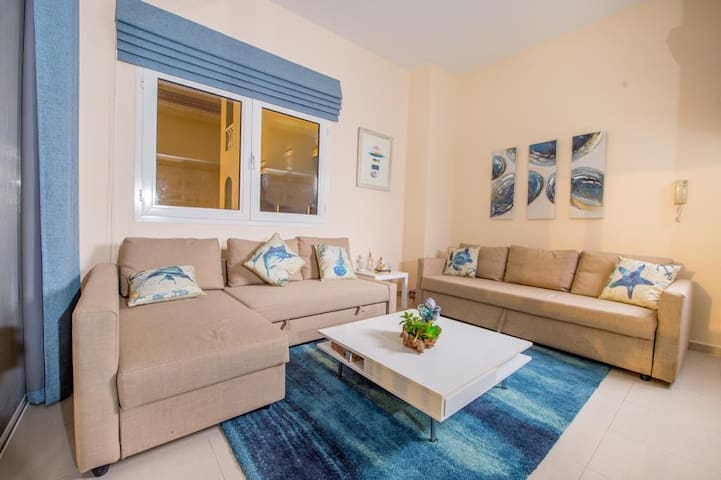 living room- beach wibe