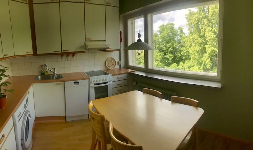 Apartment with rooftop area close to city center
