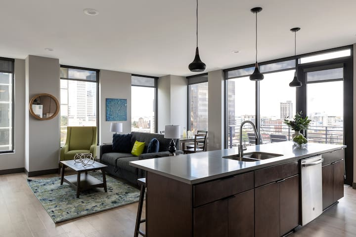 Beaming Two-Bedroom at 80 on the Commons