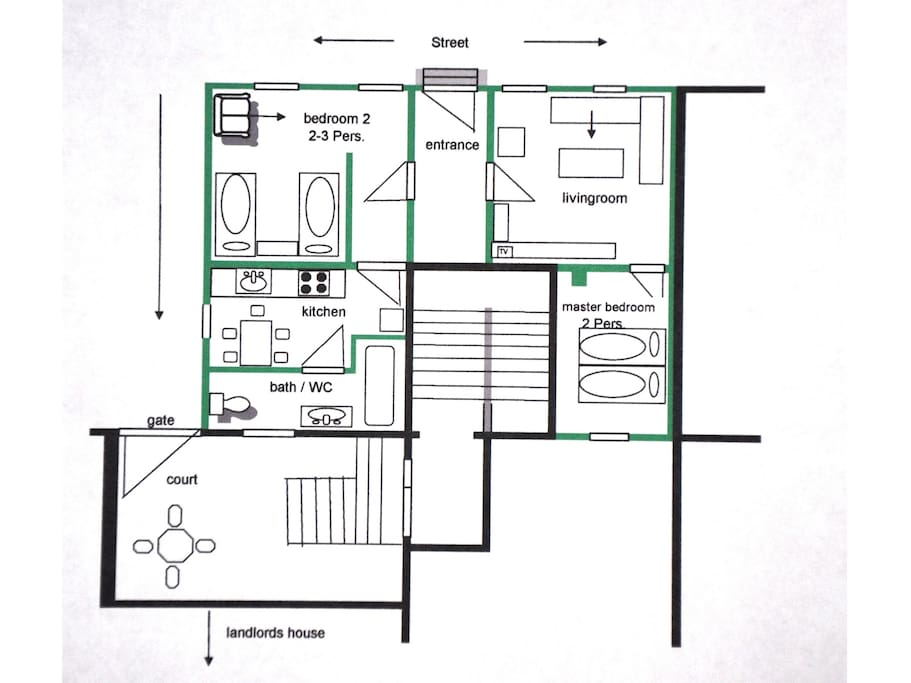 Grundriss / map