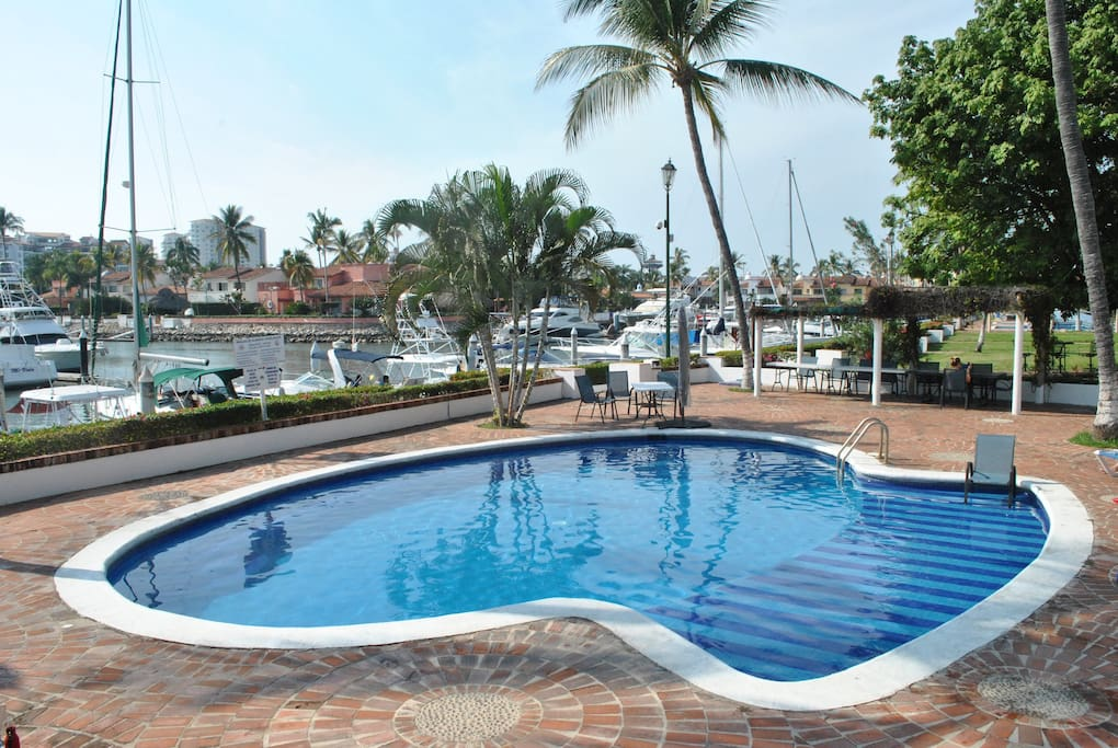 Shared swimming pool (100 meters from the villa)