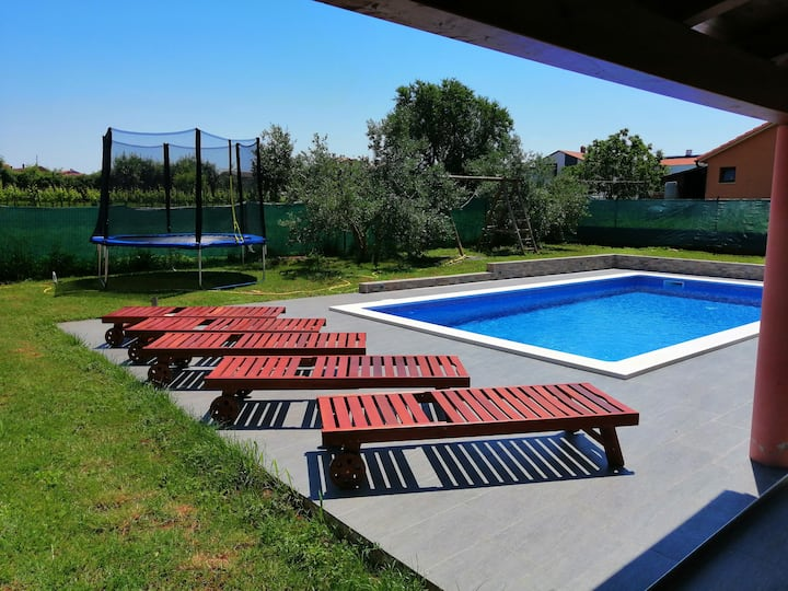 Villa Haus Marin with  pool for 10 guests
