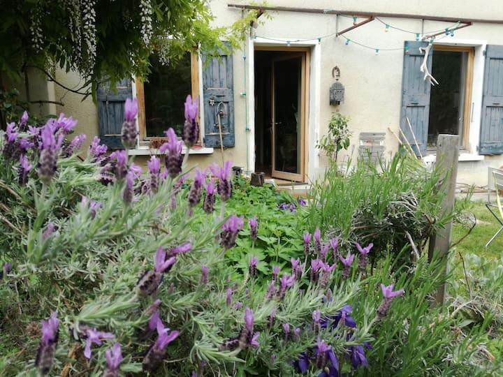Chambre calme sur jardin