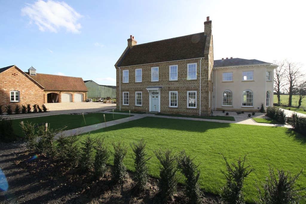 Newly built family home with all the modern comforts