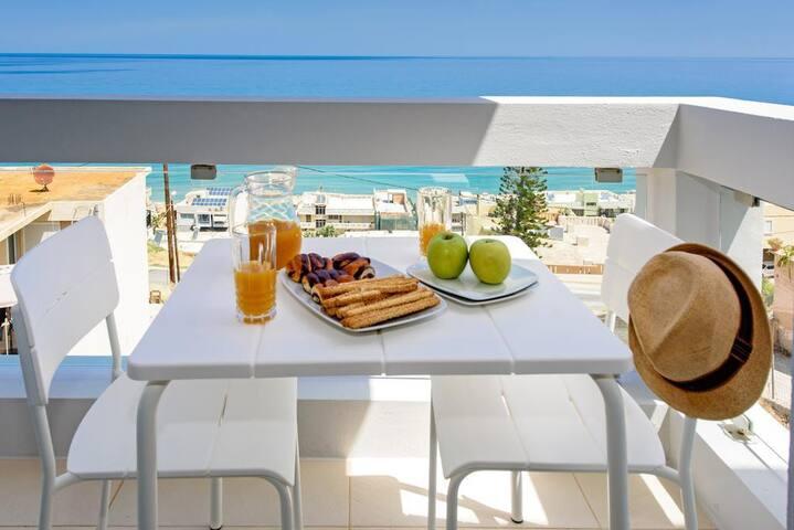 VIVIAN Apartments - Superior 2 - Sea view Rethymno