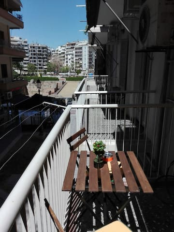 City center, great view, exquisite 2bd apartment - Thessaloniki - Wohnung