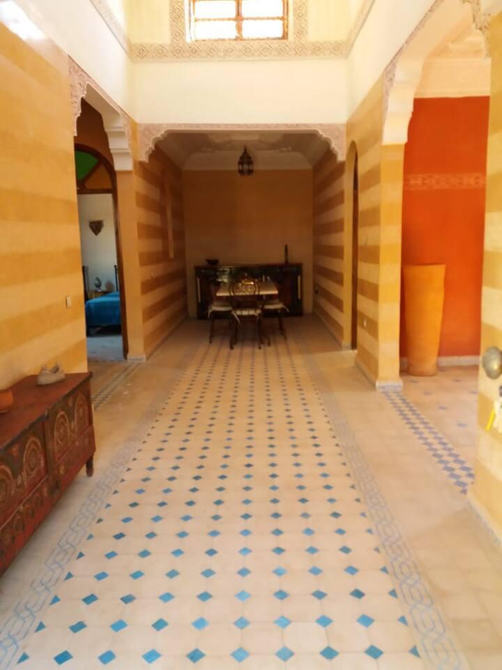 Havre de paix à 20 mn  de Marrakech.