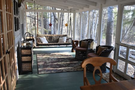 Beautiful newly renovated ADK cabin - Paradox