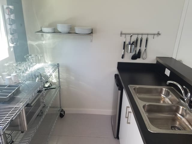 Upstairs unit - Kitchen