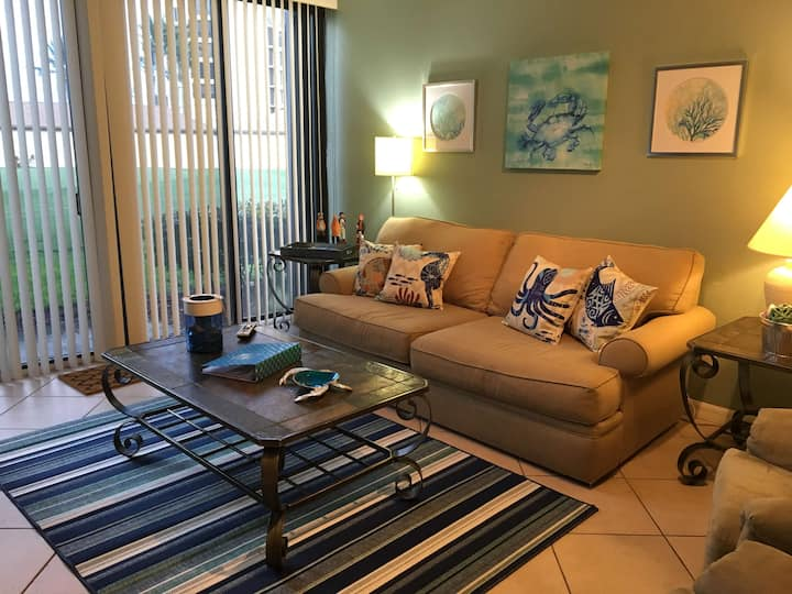 Come Relax at our home by the beach at Ft Pierce