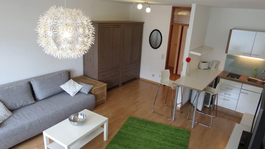 Mitten im Zentrum top Wohnung mit großem Balkon - Neuss - Apartment