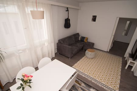 Apartment in the center with parking and sauna - Jyväskylä - 公寓