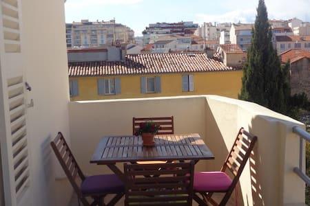 Appartement caractère vieil Antibes - Apartament