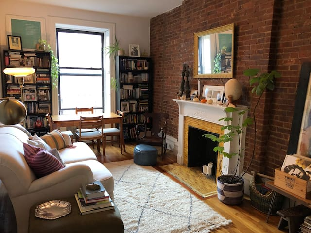 Charming Brownstone Apt Steps from Central Park!
