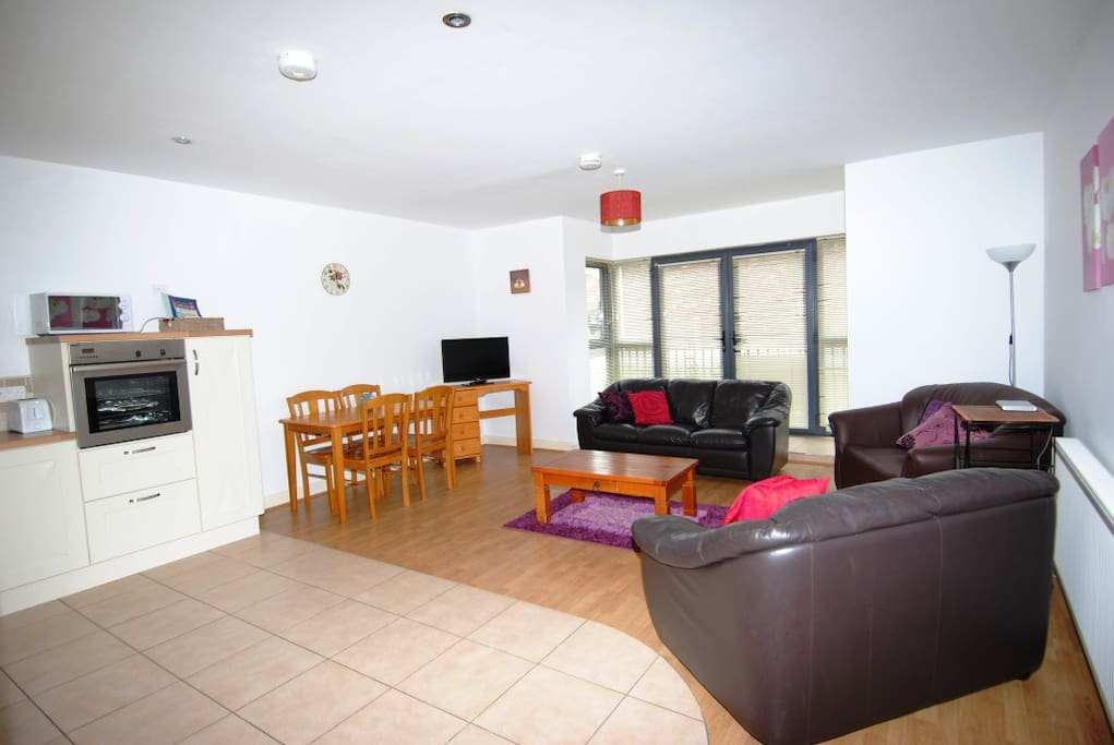 Open plan Living/Kitchen/Dining area