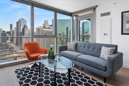 Luxury 1BR Apt Overlooking the River - Chicago