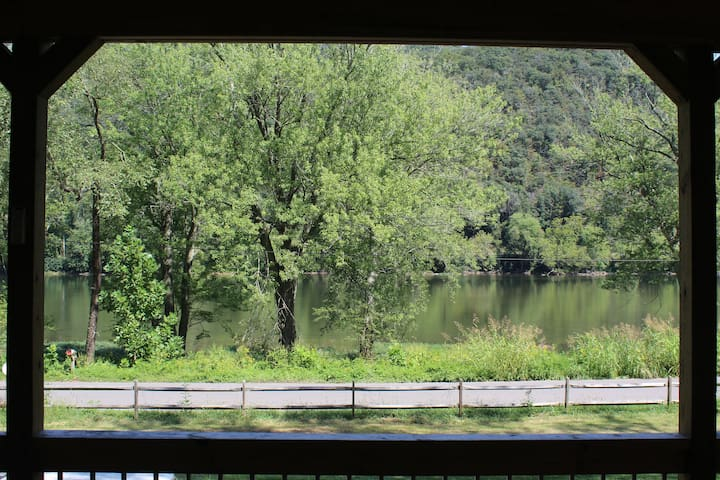 View of the New River from the Porch