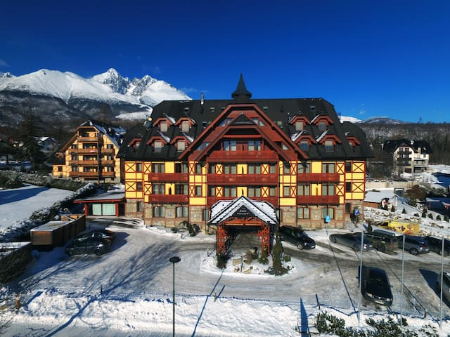 One-Bedroom Apartment in Mountain Hotel ****