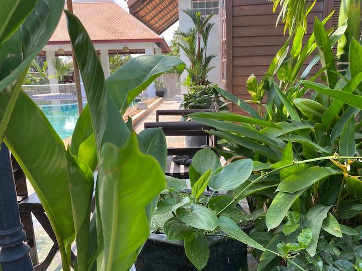 Tropical 4 bedroom Luxury Pool Villa
