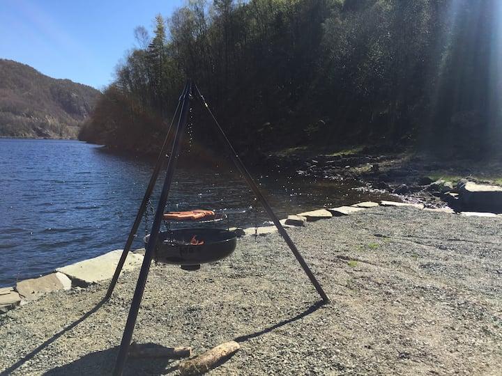 Feriebolig ved sjøen, Lavoll - Flekkefjord