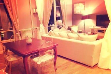 Chambre dans lumineux et grand appartement - Montmorency