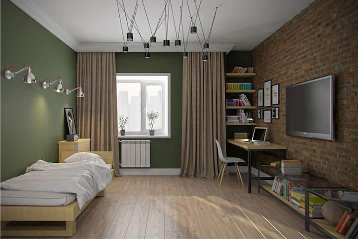 Маленькая комната на Ветеранов