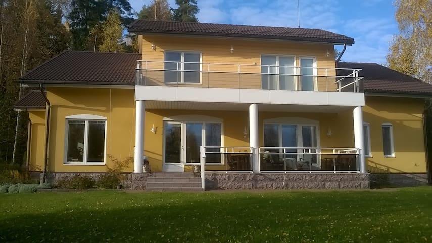 Tilava omakotitalo maaseudulla - Hollola - Casa