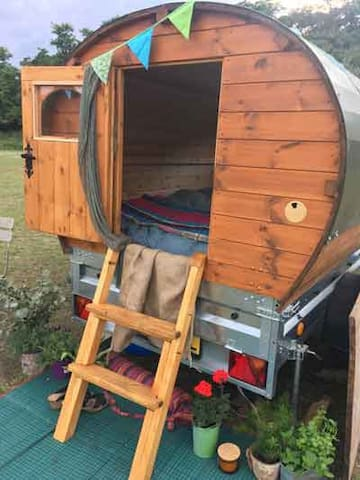 Bespoke Wooden Tow Pod - takes you anywhere!