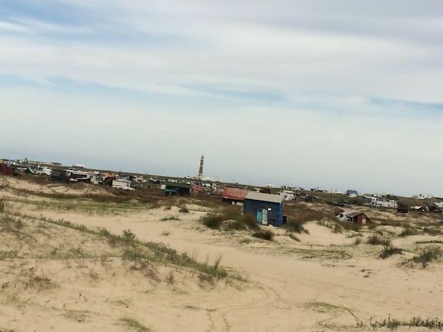 Hermoso lugar en area protegida. - Cabo Polonio - House