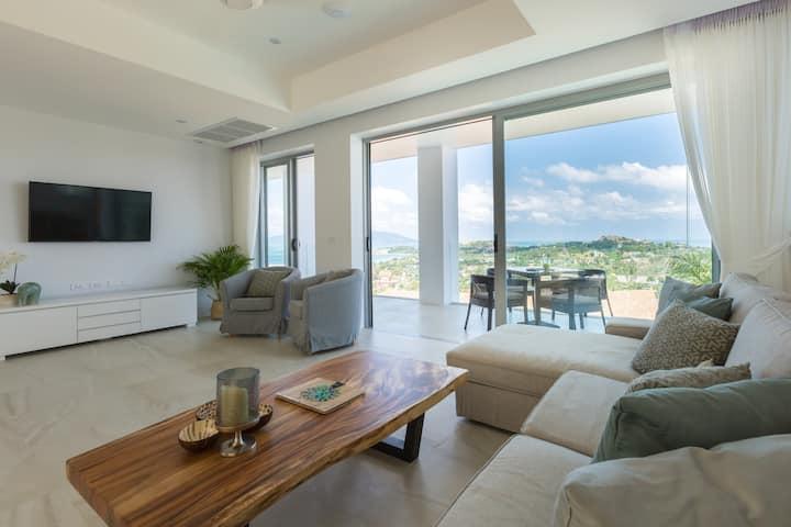 Sam-kah Residence 8 Suite 3 amazing sea views