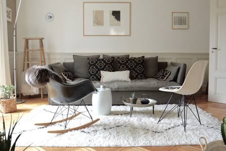 Appartement de designer, jardin d'hiver & terrasse - Peseux - Квартира
