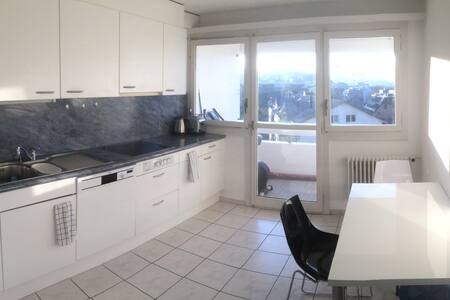 Room in apartment with top design, location & view - Freienbach - Appartement