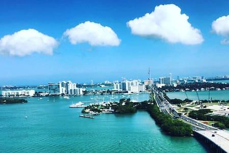 New 2bed/2bath walk to the beach - Miami Beach - Apartment