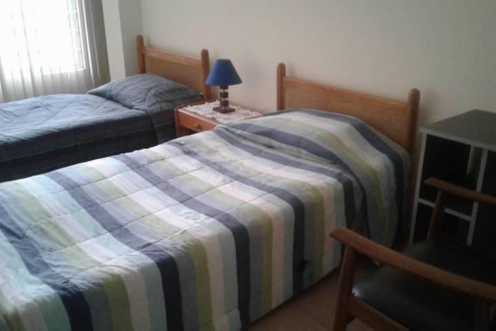 Cozy private room in Central Chapinero Zone!!!