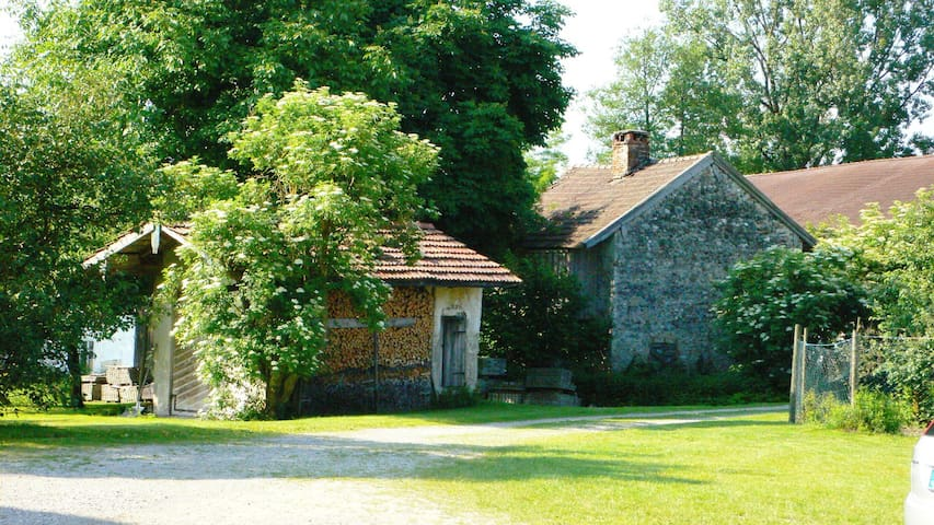 Hagerhof Chiemsee Ferienwohnung Backhaus - Eggstätt - Condominium