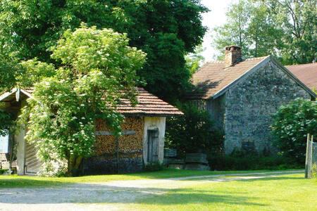 Hagerhof Ferienwohnung Backhaus - Eggstätt - Osakehuoneisto