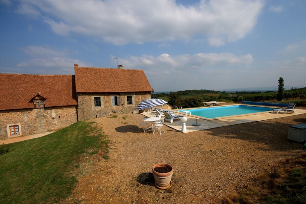 Gite avec piscine en bourgogne maisons louer bissey for Gite de france bourgogne avec piscine