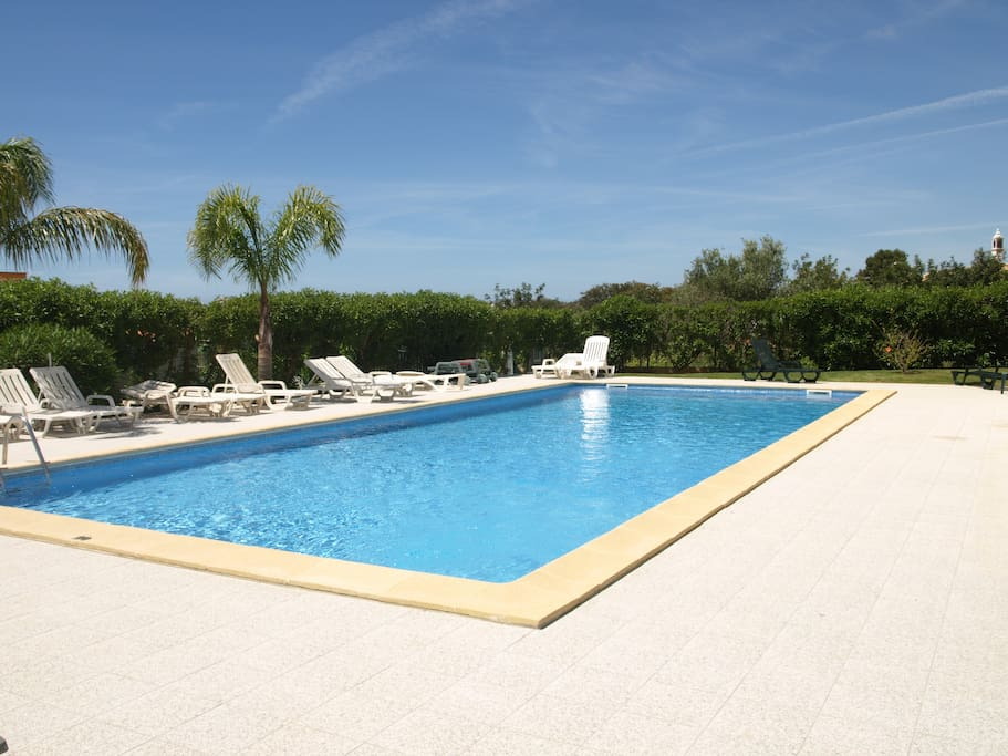 Common swimming pool area