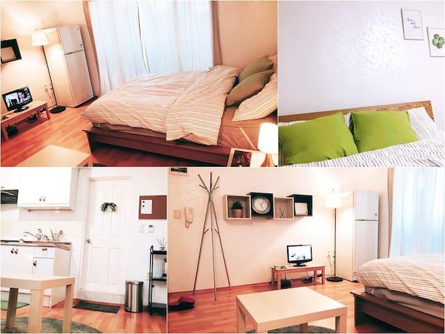 [NEW] 5min from stn | Hongdae | Clean & Cozy - Mapo-gu - Condominium