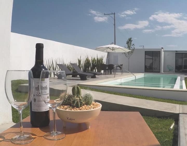 Casa Kabia 2, seis suites con alberca y wifi