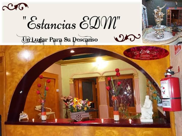 Hotel EDM Estancias ❤️Un Lugar Para Su Descanso❤️