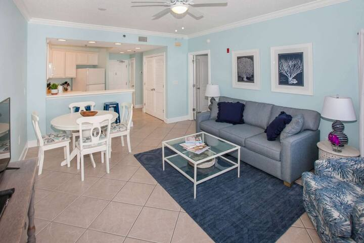 Renovated with gulf view | Outdoor pool, Wifi, BBQ | Free golf, fishing, dolphin cruise, OWA tickets