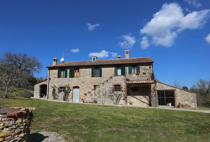 FARMHOUSE PIANACCE - CASTLE VIEW - Montegabbione