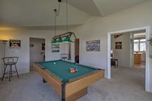 Show off your skills on the pool table.