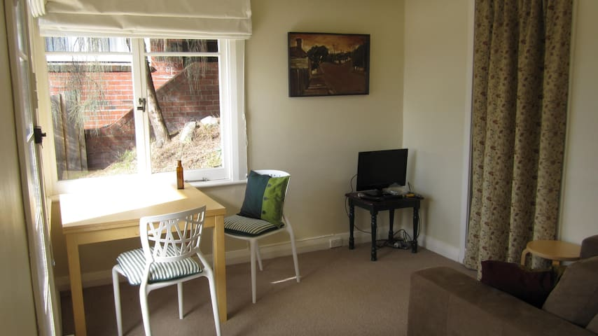 Sunny Studio Apartment with great views of Hobart - South Hobart - Lägenhet