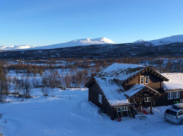 Hytte i Stugudal ledig første del av vinterferien