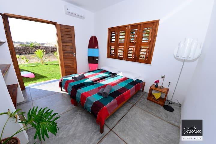 Surf Villa Room - Taíba Surf & Yoga