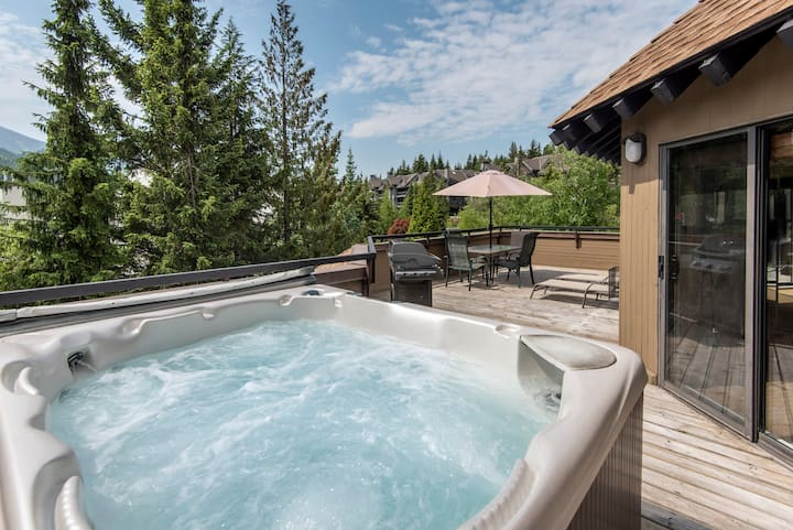 Stunning Mountain View 3BR Condo w/Private Hot Tub