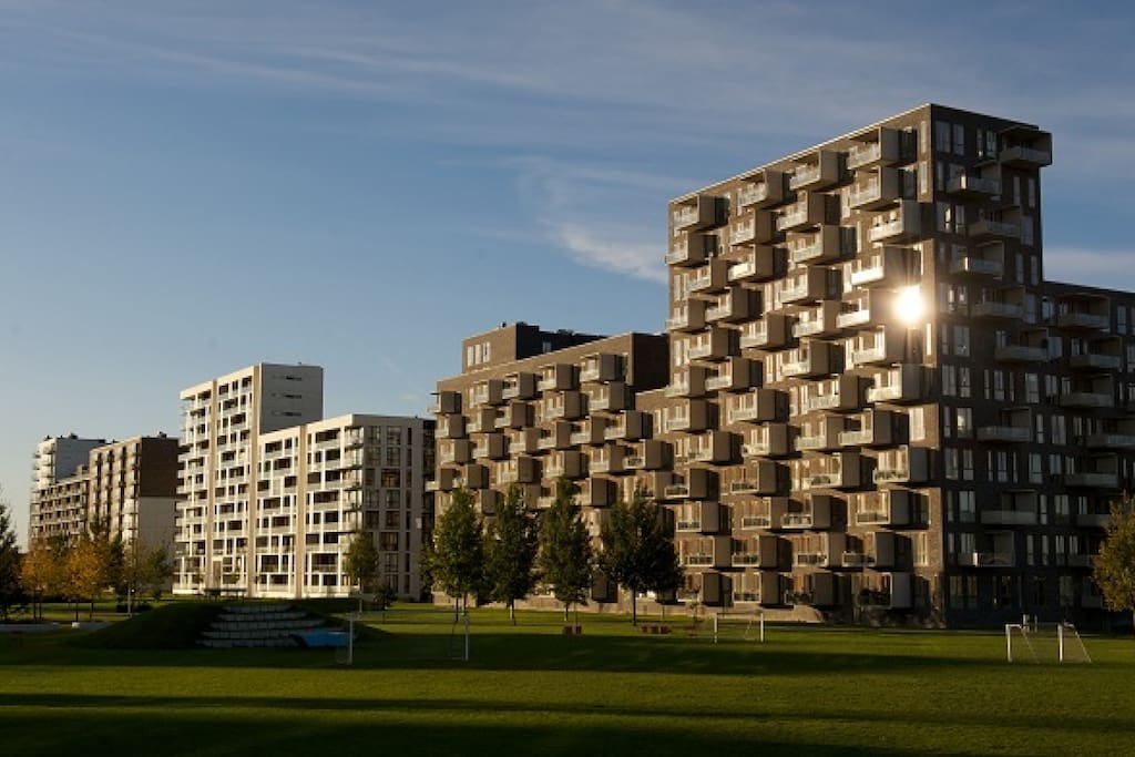 "The architecture of the  ""Ørestad"" City"